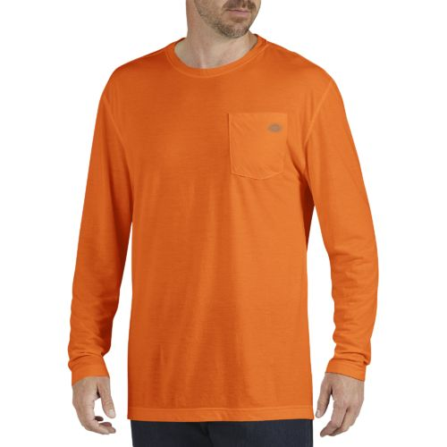 Dickies Men's Long Sleeve drirelease Performance T-shirt