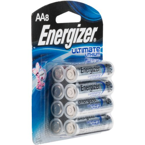 energizer ultimate lithium aa batteries 8 pack academy. Black Bedroom Furniture Sets. Home Design Ideas