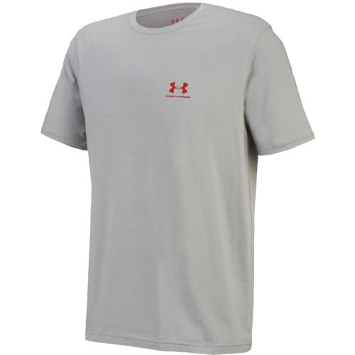 Under Armour™ Men's Charged Cotton® Sportstyle Left Chest Logo T-shirt