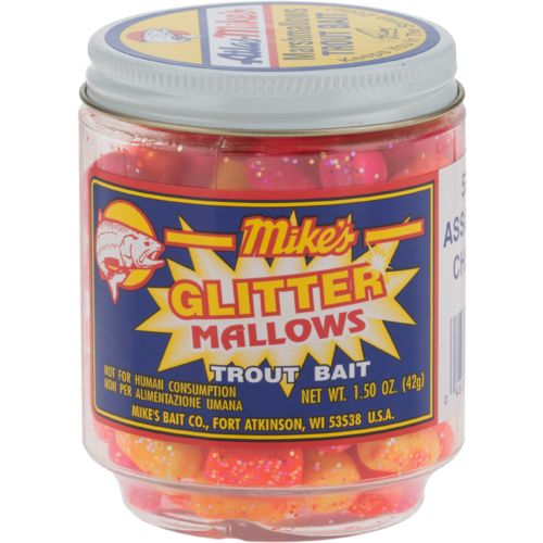 Mike's Glitter Marshmallows Trout Bait