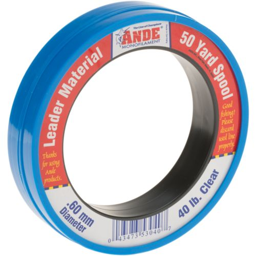 Ande premium 50 yards wrist spool fishing line academy for Ande fishing line