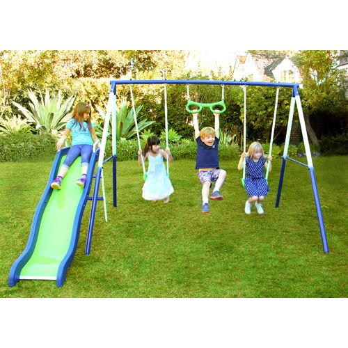 Sportspower Sierra Vista Metal Swing and Slide Set - view number 2