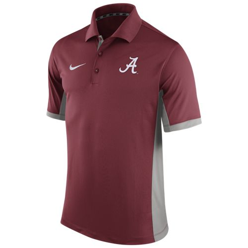 nike men 39 s university of alabama team issue polo shirt