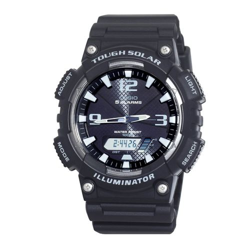 Casio Men's Tough Solar Powered Analog/Digital Sports Watch