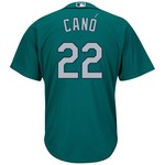 Majestic Men's Seattle Mariners Robinson Cano #22 Cool Base® Jersey