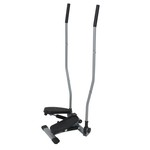 Sunny Health & Fitness SF-S1403 Dual-Action Swivel Stepper with Bars
