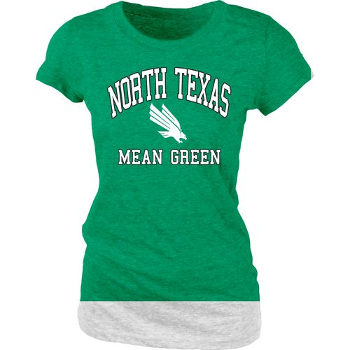 Blue 84 Juniors' University of North Texas Triblend T-shirt