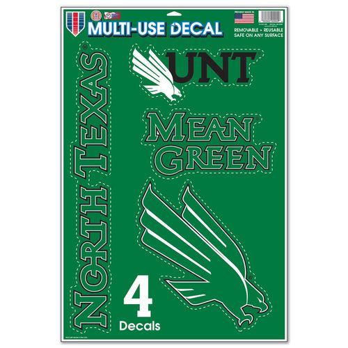 WinCraft University of North Texas 11'' x 17'' Multiuse Decal