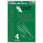 WinCraft University of North Texas 11'' x 17'' Multiuse Decal - view number 1