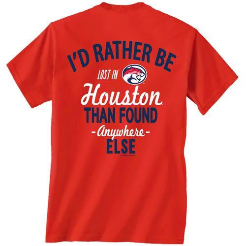 New World Graphics Men's University of Houston Lost and Found T-shirt