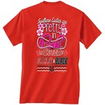 New World Graphics Women's Arkansas State University Cuter in Team T-shirt