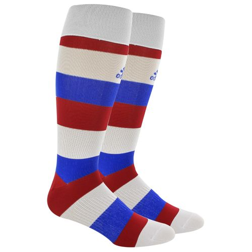 adidas™ Adults' Metro Hoop Over the Calf Soccer Socks