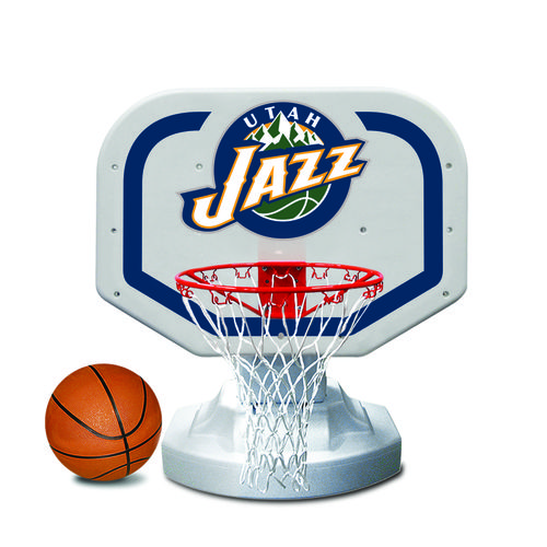 Poolmaster® Utah Jazz Competition Style Poolside Basketball Game