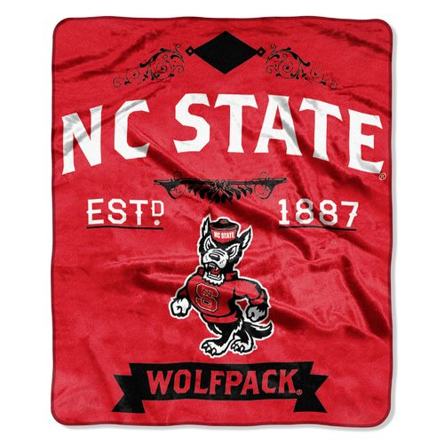 The Northwest Company North Carolina State University Label Raschel Throw