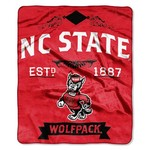 The Northwest Company North Carolina State University Label Raschel Throw - view number 1