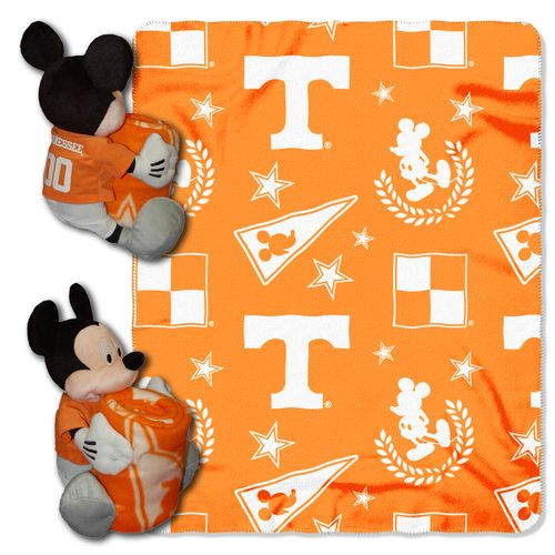 The Northwest Company University of Tennessee Mickey Mouse Hugger and Fleece Throw Set