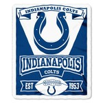 The Northwest Company Indianapolis Colts Marquee Fleece Throw