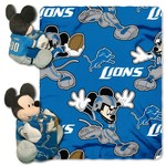 The Northwest Company Detroit Lions Minnie Mouse Hugger and Fleece Throw Set - view number 1