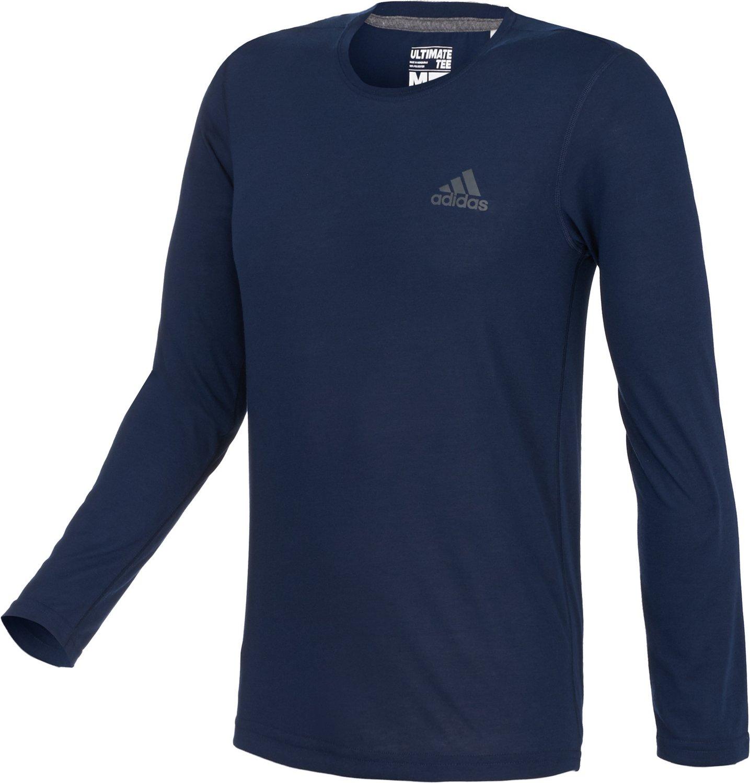 adidas™ Men's Ultimate Long Sleeve Crew T-shirt