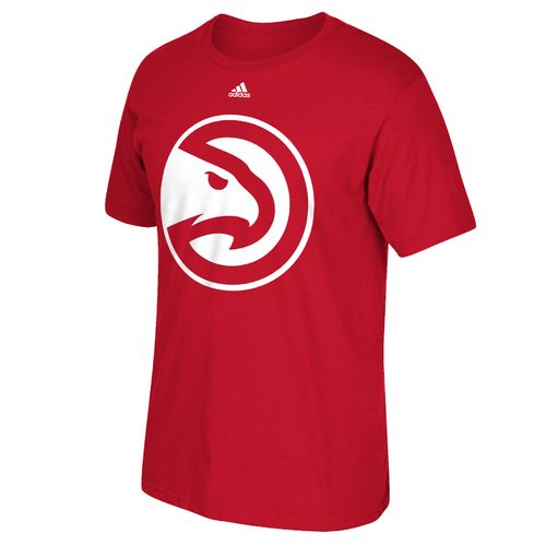 adidas™ Men's Atlanta Hawks Tip Off Huge Preferred Logo Short Sleeve T-shirt