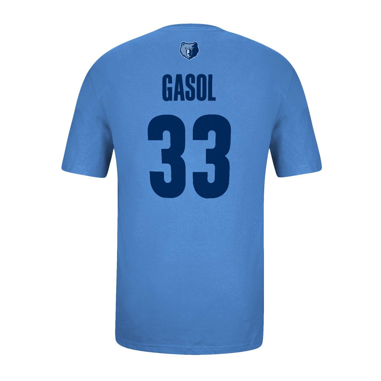 adidas™ Men's Memphis Grizzlies Marc Gasol #33 T-shirt