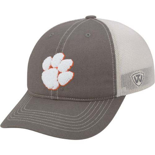 Top of the World Adults' Clemson University Putty Cap