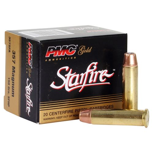 PMC Gold Line Premium .40 S&W 180-Grain StarFire Hollow Point Centerfire Handgun Ammunition