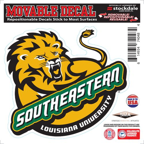 "Stockdale Southeastern Louisiana University 6"" x 6"" Decal"