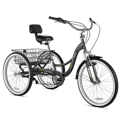 Display product reviews for KENT Northwoods Adults' Rock Point 24 in Tricycle