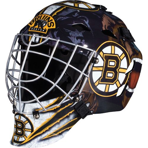 Franklin Boys' Boston Bruins GFM 1500 Goalie Face Mask