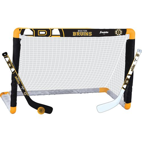 Franklin Boston Bruins Mini Hockey Goal Set