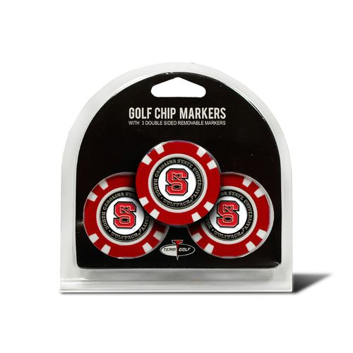 Team Golf North Carolina State University Poker Chip and Golf Ball Marker Set - view number 1
