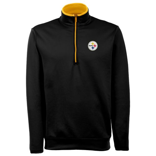 Antigua Men's Pittsburgh Steelers Leader Pullover