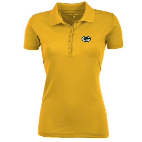 Display product reviews for Antigua Women's Green Bay Packers Pique Xtra-Lite Polo Shirt