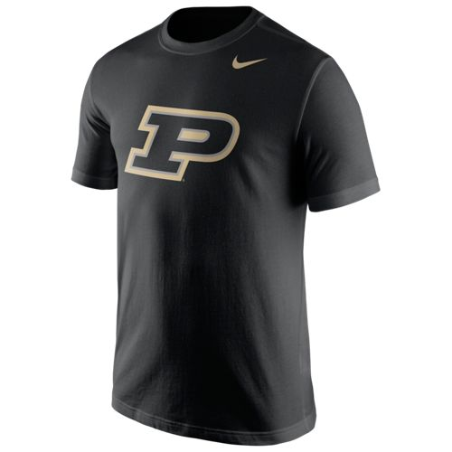 Nike™ Men's Purdue University Logo T-shirt - view number 1
