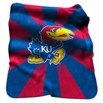 Logo™ University of Kansas Raschel Throw - view number 1
