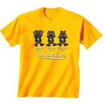 New World Graphics Toddlers' Baylor University No Evil T-shirt