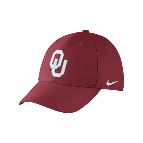 Nike™ Adults' University of Oklahoma Swoosh Flex Cap - view number 1