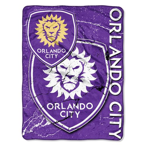 The Northwest Company Orlando City SC Micro Raschel Throw