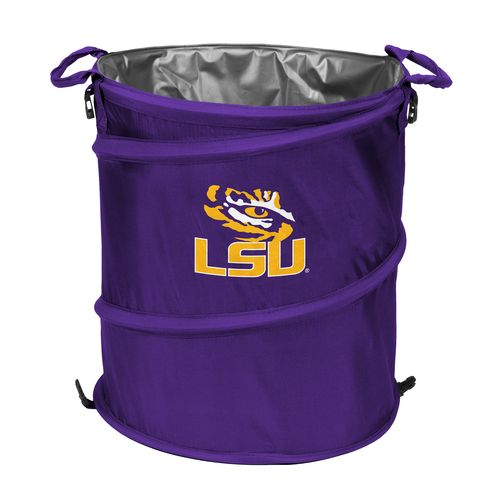 Logo™ Louisiana State University Collapsible 3-in-1 Cooler/Hamper/Wastebasket