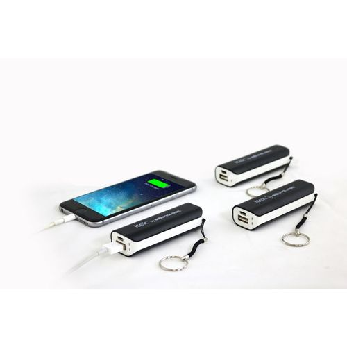 itek™ 2,600 mAh Power Banks with Key Chains 3-Pack