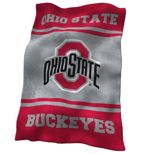 Display product reviews for Logo™ Ohio State University Ultrasoft Blanket
