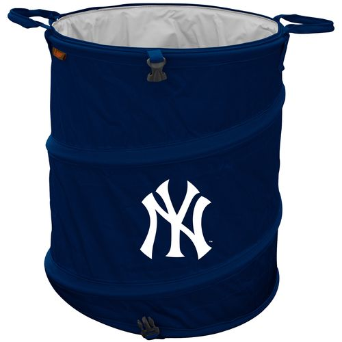 Logo™ New York Yankees Collapsible 3-in-1 Cooler/Hamper/Wastebasket - view number 1