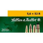 Sellier & Bellot 5.6mm x 52 R 70-Grain Full Metal Jacket Centerfire Rifle Ammunition - view number 1