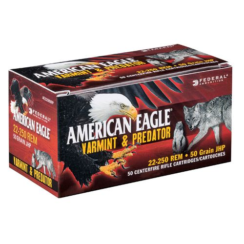Federal® American Eagle® Varmint and Predator Full Metal Jacket .243 Win. 75-Grain Ammunit