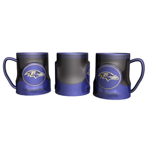 Boelter Brands Baltimore Ravens Gametime 18 oz. Mugs 2-Pack