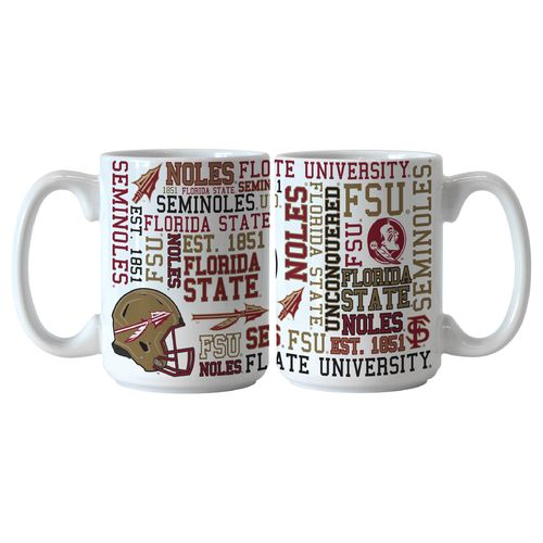 Boelter Brands Florida State University Spirit 15 oz. Coffee Mugs 2-Pack - view number 1