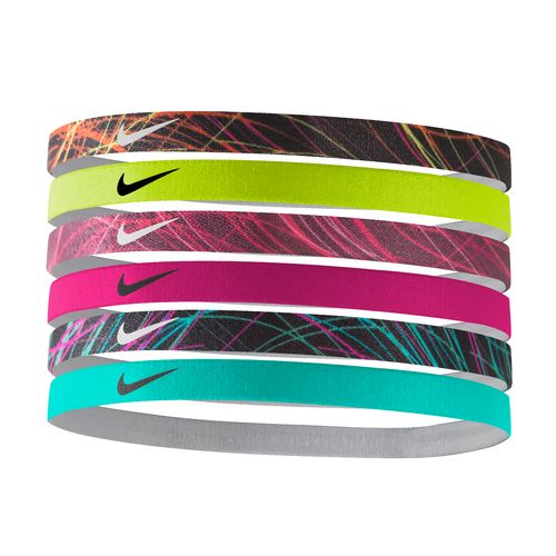 Nike Women's Printed Headbands 6-Pack