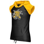 Colosseum Athletics Girls' Wichita State University Jewel Short Sleeve Hoodie