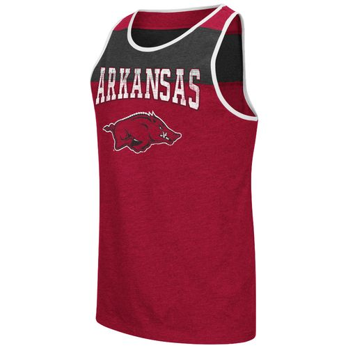 Colosseum Athletics Men's University of Arkansas Backcut Tank Top